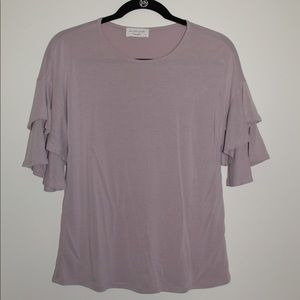 Lavender Field small blouse
